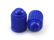 Nitrogen Heavy Duty Blue (ABS) Valve Stem Caps (1000)