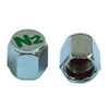 Engraved N2 Chrome Plated Valve Stem Cap (100 Pack)