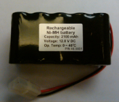 Airtec/Haltec Rechargeable Battery for Haltec Inflators